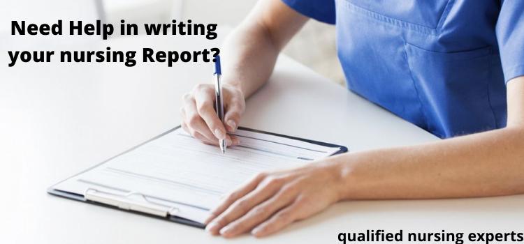 best nursing report writing service