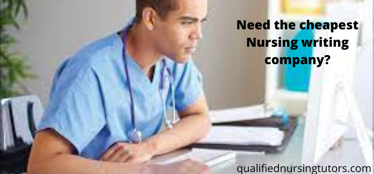 cheapest nursing writing company