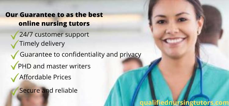 best online qualified nursing tutors service